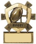 Rugby Mini Shield Award